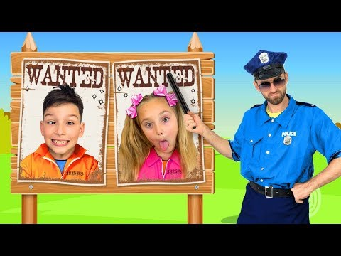 Sasha Plays As A Policeman And Investigates Mysterious Stories With Toys