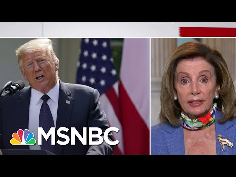 Speaker Pelosi: 'The President Himself Is A Hoax'   Stephanie Ruhle   MSNBC