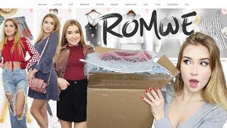 Wearing Clothes From Romwe For A Week!!