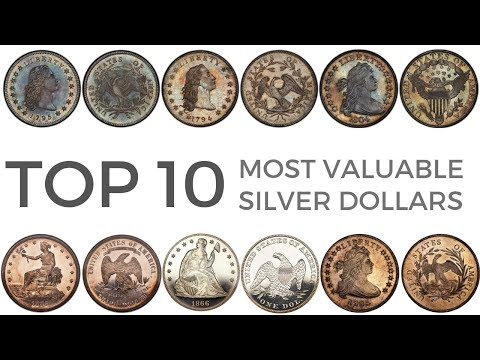 Top 10 Most Valuable Silver Dollars – Rare $1 US Coins (Including Most Valuable Coin Ever Sold!)