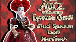 Alice Through The Looking Glass Red Queen Doll REVIEW ( Алиса в Зазеркалье, Красная Королева)
