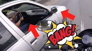 BEST OF MOTORCYCLE MIRROR SMASHING 2018 [PART 6]