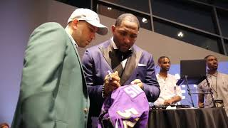Gold Jacket Party for a Purpose | Ray Lewis