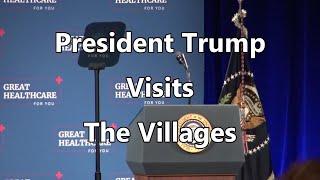 President Donald Trump Visits The Villages