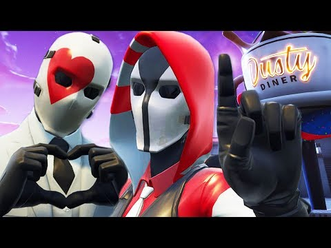 WILD CARDS NEW GIRLFRIEND!   A Fortnite Film (The Ace and Wild Card Love Story)