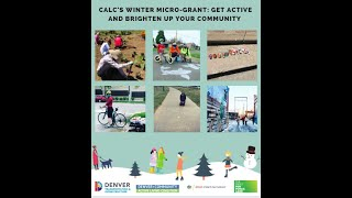 Learn more about CALC's Winter Micro-Grant opportunity!