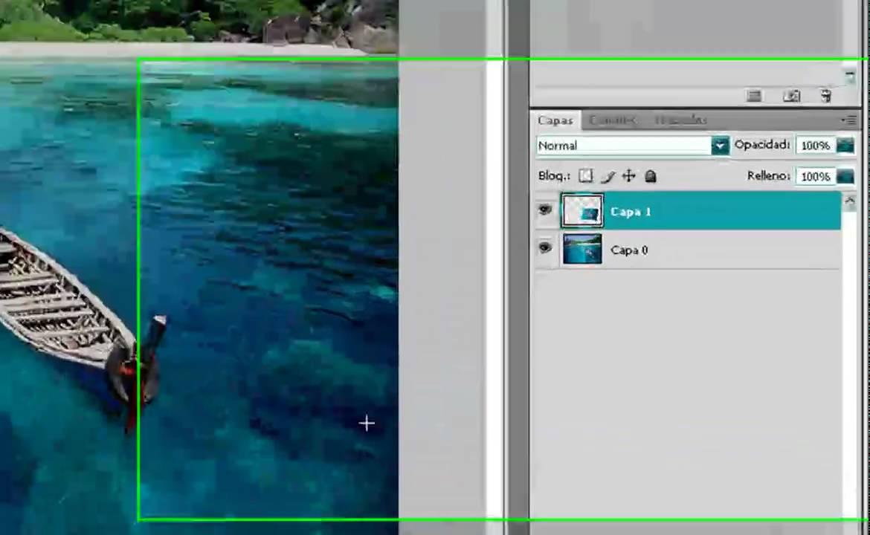 Poner Un Marco muy Rapido en Photoshop - YouTube