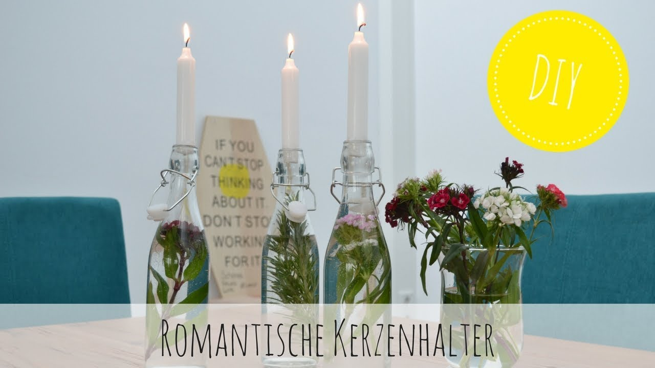 Diy u2013 romantische kerzenhalter selber machen youtube