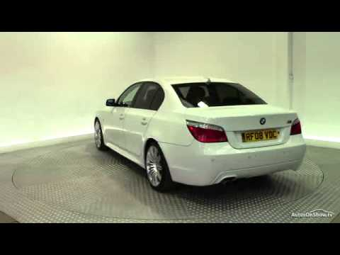 2008 BMW 5 SERIES 525I M SPORT  YouTube