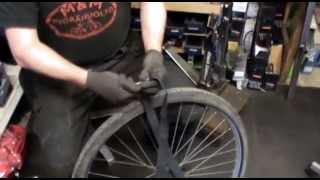 Pyöränkorjaus: Sisäkumin vaihtaminen