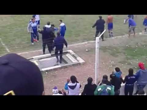 Una cobarde agresión sufrió el árbitro Claudio Landriel en la Liga Güemense