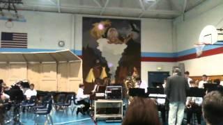Westlake Jazzband playing Frog Bottom Blues Sean Myers on piano