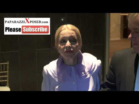 Anne Jeffreys talks about what she wants to be remembered for greets fans outside the Dorothy Chandl