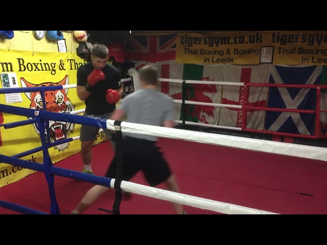 Leeds university boxing body sparring