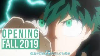 Top 30 Anime Openings Fall 2019