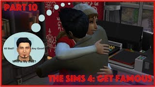 The Sims 4: Get Famous // Who Is My Dad? (Part 10)