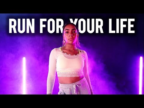 Tiffany Young - Run For Your Life Feat Charlize Glass   Brian Friedman Choreography   #TMillyTV