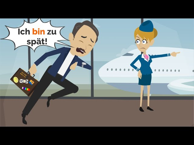 Deutsch lernen   Wir fliegen nach Berlin!   Wortschatz: am Flughafen