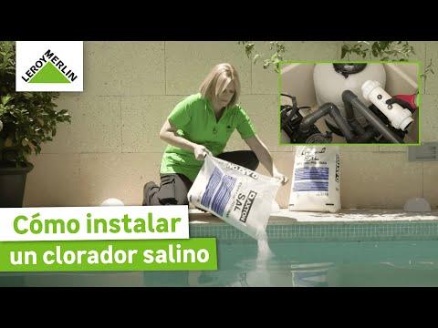 Cómo instalar un clorador salino (Leroy Merlin)