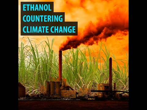 Ethanol countering climate change
