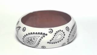 Wooden Fashion Bangle Bracelet Thumbnail
