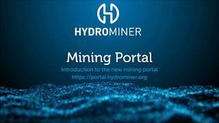 HydroMiner Mining Portal