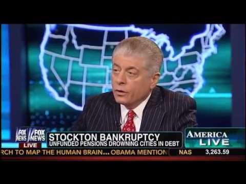 Judge Napolitano Slams Immoral Spending Habits of Now-Bankrupt Californian City