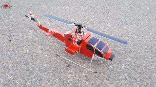 how to make Boeing AH-64 Apache   DIY RC Helicopter
