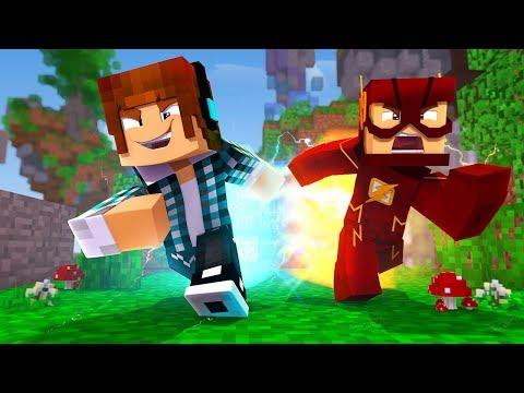Minecraft: PEGA-PEGA COM PODERES DE VELOCIDADE !!