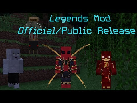 Public/Official Release! (Minecraft Legends Mod)Part 12 + How To Install The Legends Mod