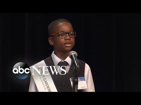 Children give speeches inspired by Martin Luther King Jr.