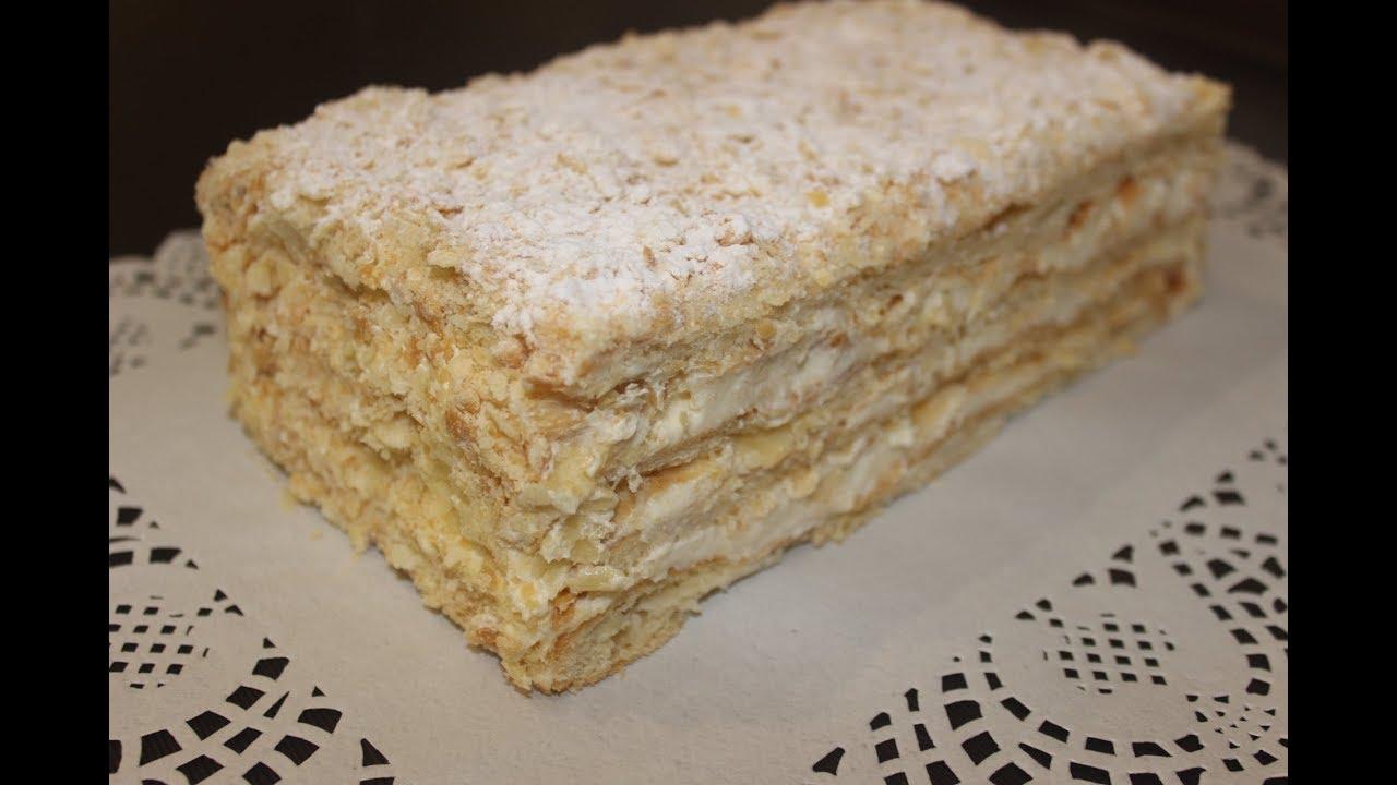 Napoleon Tortu. Napolyon Pasta Nasıl yapılır.