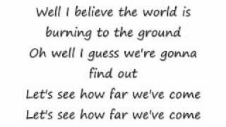 Matchbox 20-How Far We