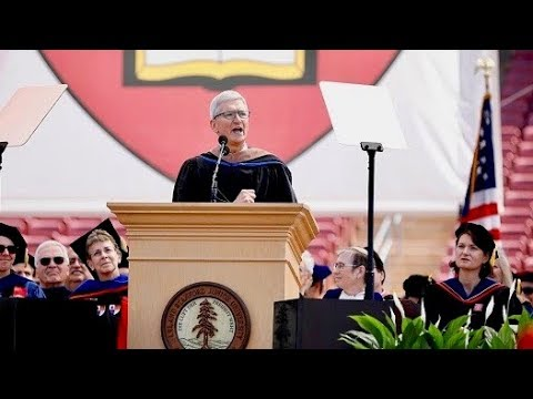 WATCH: Apple CEO Tim Cook delivers remarks at Stanford graduation