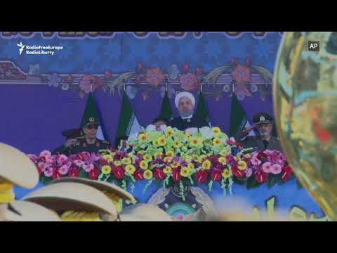 Iran Marks Army Day, Rohani Vows To Make Any Weapons Needed