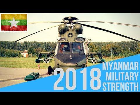 Myanmar Military Strength 2018