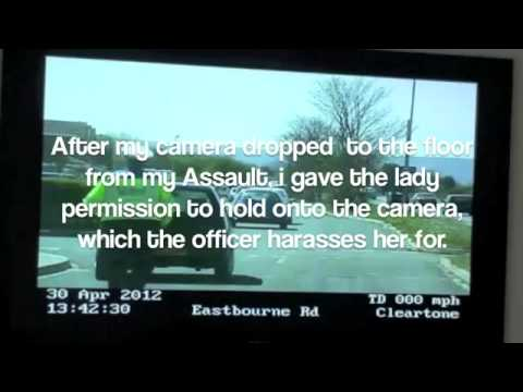UNLAWFUL ARREST BY SUSSEX POLICE  'THE BURDEN OF PROOF' 1
