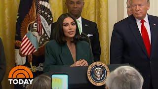 Kim Kardashian West Returns To White House To Talk Prison Reform | TODAY