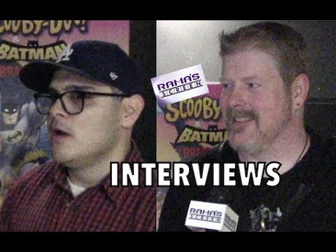 My 'SCOOBY-DOO! & BATMAN: THE BRAVE AND THE BOLD' Interviews With Jake Castorena & John DiMaggio