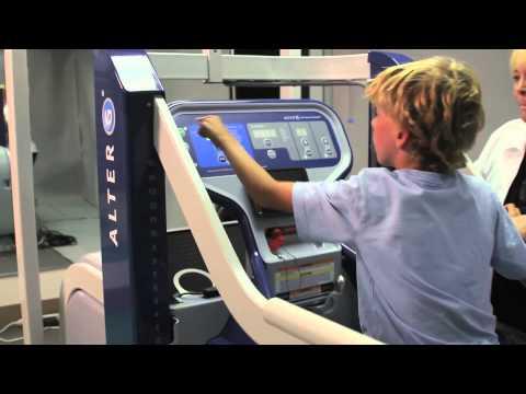 Pediatric Cerebral Palsy Rehab on the AlterG Anti-Gravity Treadmill