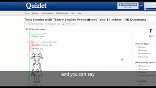 Level 1 English Test