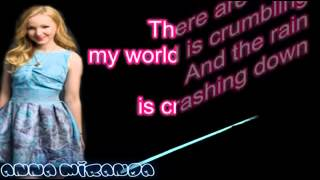 Dove cameron - count me in on screen lyrics