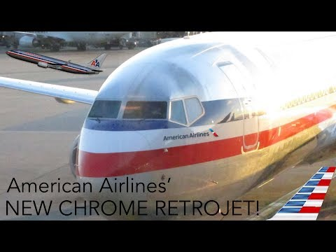 AMERICAN AIRLINES' NEWEST RETROJET: THE CHROME HERITAGE B737-800!