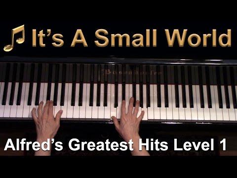 Its A Small World Elementary Piano Solo