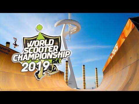 ISA SCOOTER WORLD FINALS 2019 RUNS Dylan Morrison vs Cody Flom
