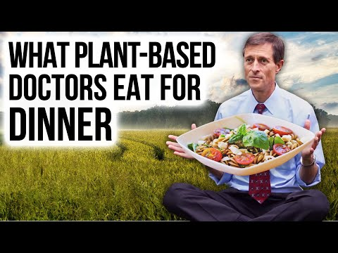 WHAT I EAT FOR DINNER: Dr. Barnard & Other Plant-Based Doctors