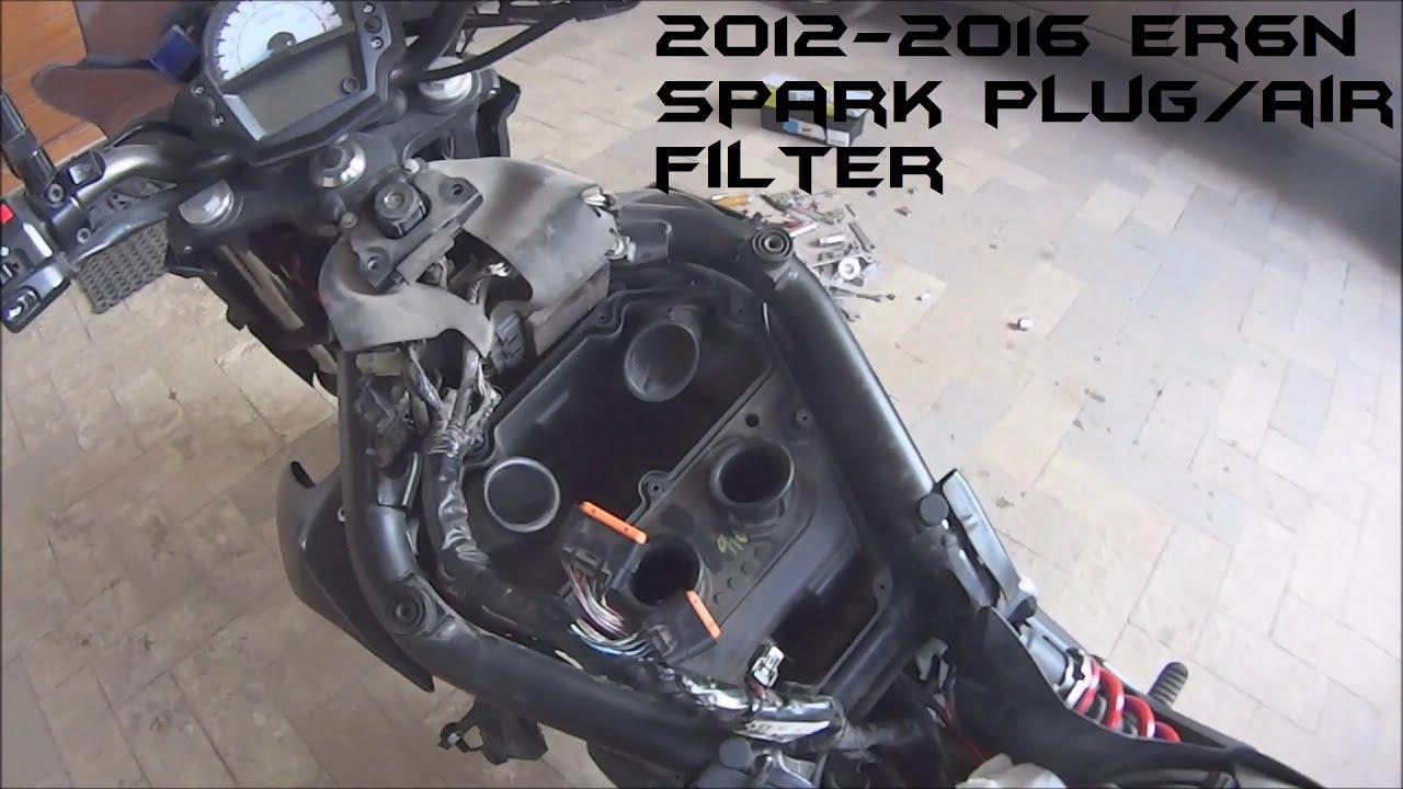 Changer filtre a air er6n 2012