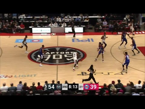 Bruno Caboclo (17 points) Game Highlights vs. Long Island Nets