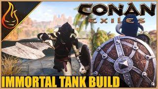 Immortal Tank Build Conan Exiles 2018 Pro Tips