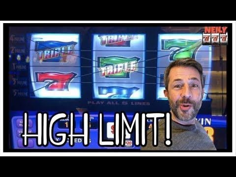 PLAYING SLOTS IN THE NEW HIGH LIMIT ROOM AT San Manuel CASINO!